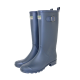 Burford Fleece Lined Wellington Boots Navy - Size 10