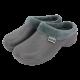 Fleecy Cloggies Charcoal Size 5