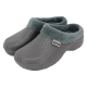 Fleecy Cloggies Charcoal Size 9