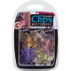 Butterfly Clips (Assorted Colours) - Pack of 6