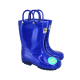 Kids Light Up Wellies Blue Size 11