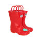 Kids Light Up Wellies Red Size 7