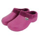Fleecy Cloggies Raspberry Size 7