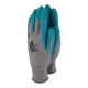 Bamboo Gardening Gloves Teal - Extra Small